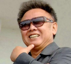 Kim Jong Il as a younger man